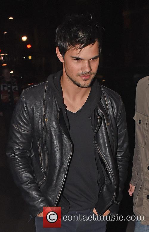 Taylor Lautner Out And About In London