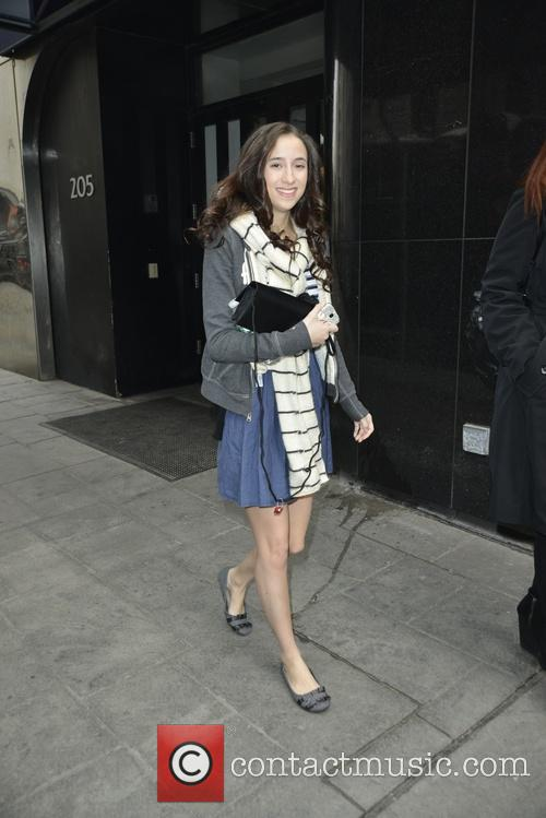 Belle Knox leaving FOX's Good Day New York
