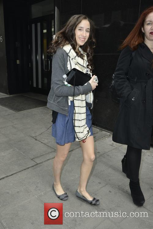 Bella Knox - Bella Knox leaving Fox Good Day New York | 18 ... Liam Gallagher