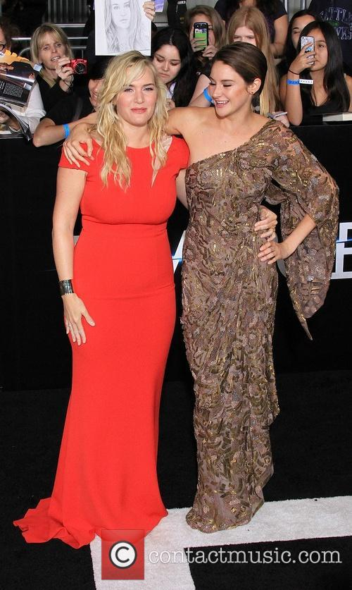 Kate Winslet and Shailene Woodley 7
