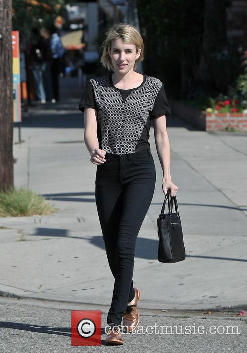 Emma Roberts In Hollywood