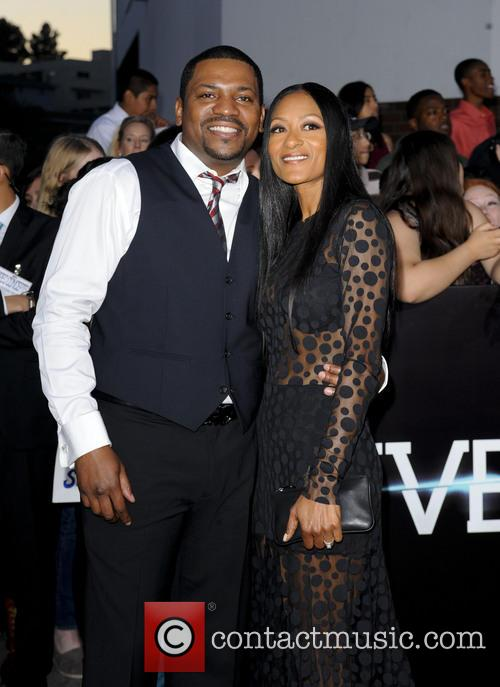 Mekhi Phifer and Wife 4