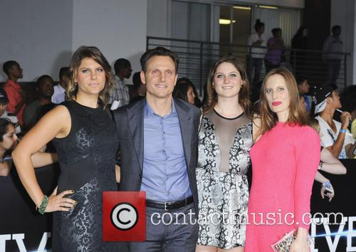 Tony Goldwyn, family