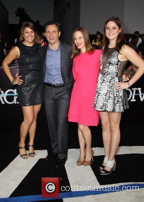 Tony Goldwyn, Liz Goldwyn and Daughters 1