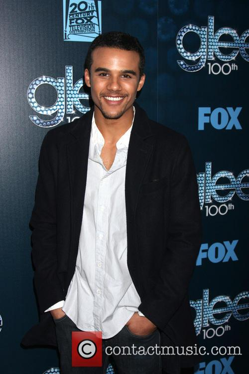 jacob artist glee 100th episode party 4116654