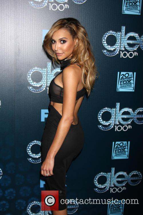 naya rivera glee 100th episode party 4116741