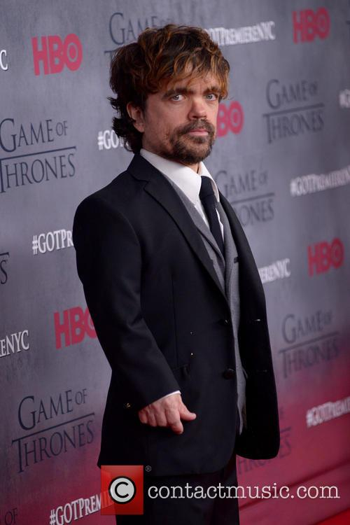 Peter Dinklage at a Game of Thrones premiere in New York