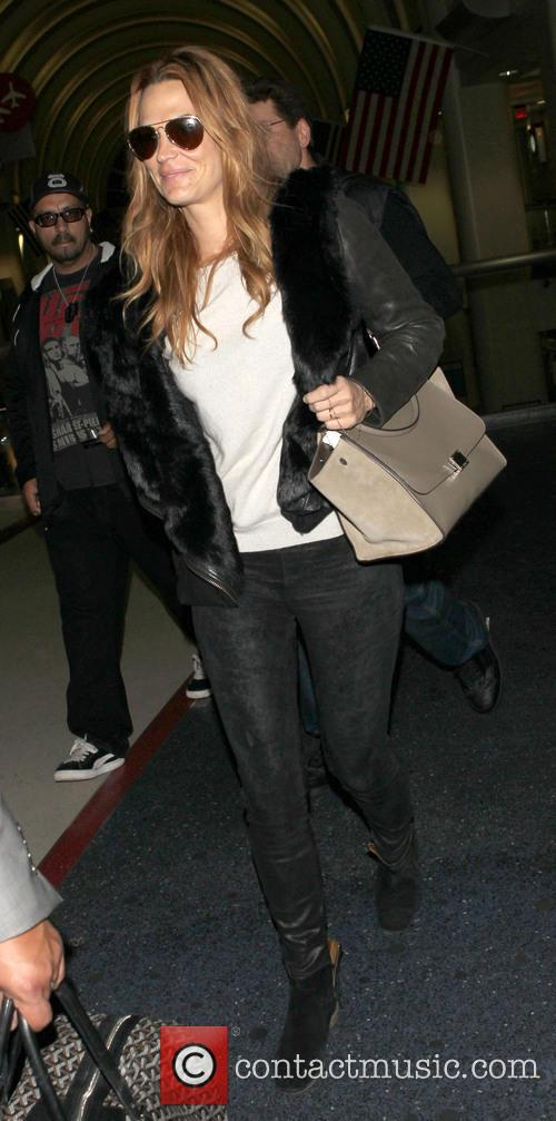 Molly Sims at LAX