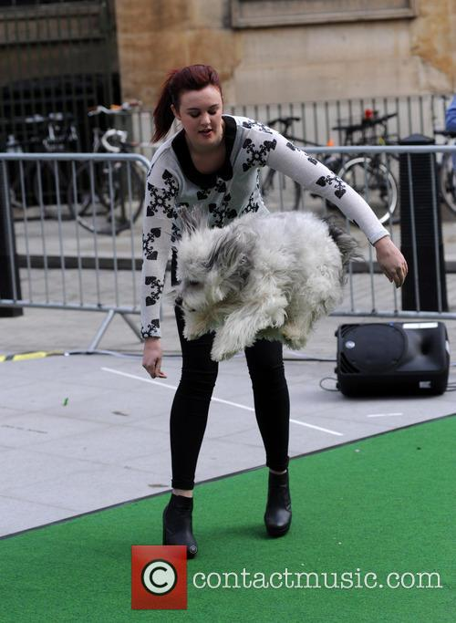 Ashleigh Butler and her dog Pudsey