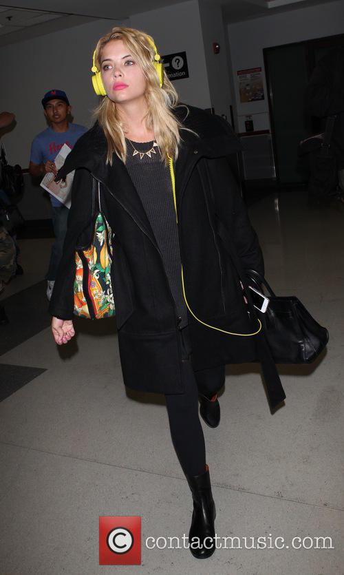 Ashley Benson at LAX