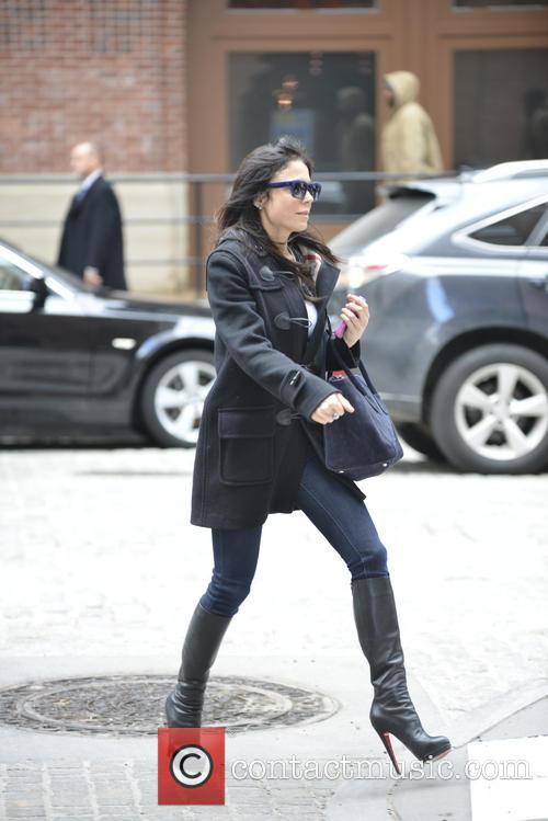 Bethenny Frankel On School Run