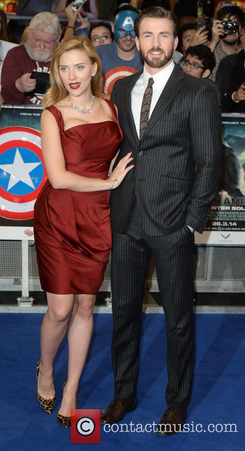 Chris Evans and Scarlett Johansson 6