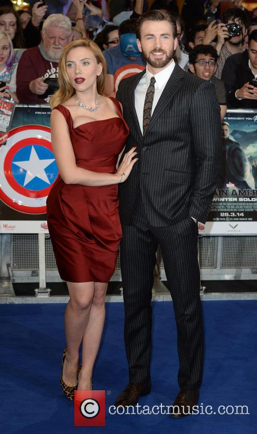 Chris Evans and Scarlett Johansson 7