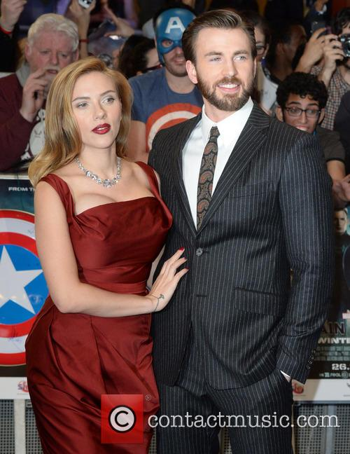 Chris Evans and Scarlett Johansson 8