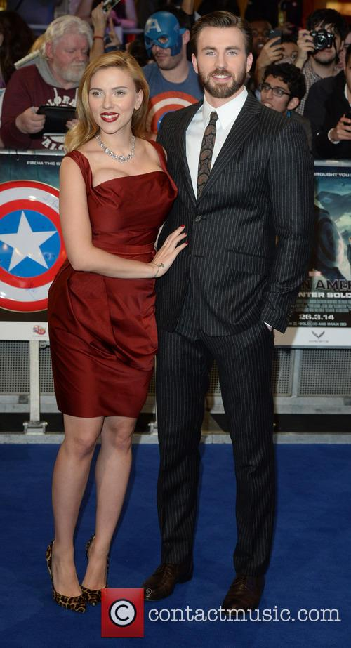 Chris Evans and Scarlett Johansson 10