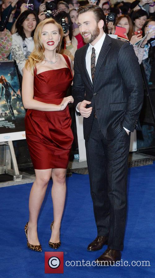Chris Evans and Scarlett Johansson 11