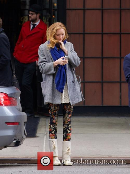 Lily Cole seen in the East Village