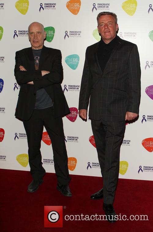 Graham Mcpherson Aka Suggs and Wilko Johnson 2