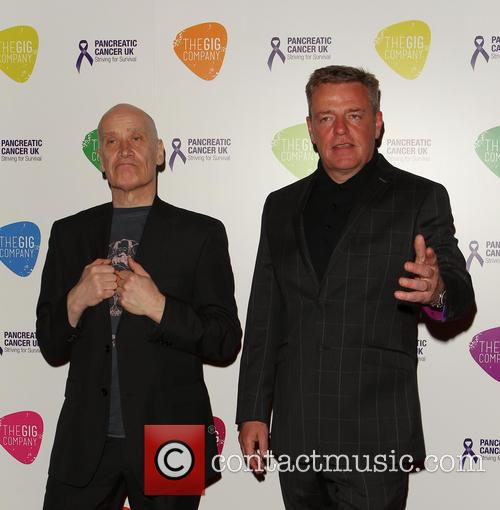 Graham Mcpherson Aka Suggs and Wilko Johnson 5