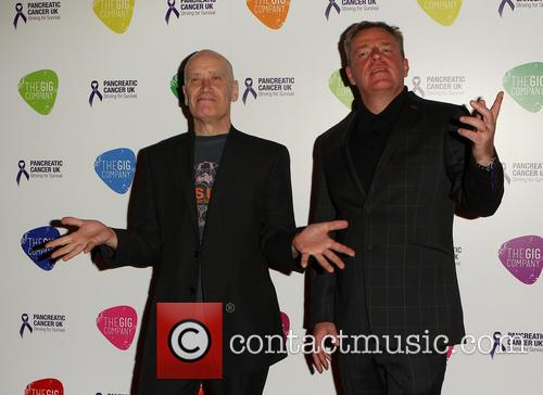 Graham Mcpherson Aka Suggs and Wilko Johnson 7