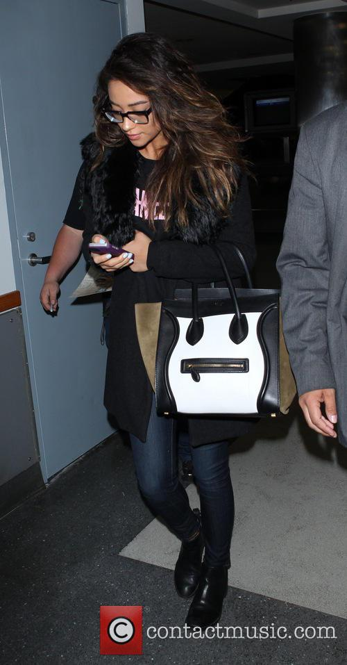 Troian Bellisario at LAX