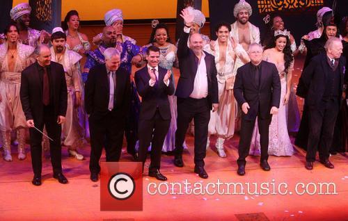 Opening Night of Broadway's Aladdin - Curtain Call