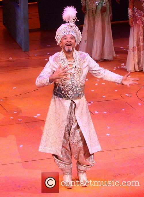 Opening Night of Broadway's Aladdin - Curtain Call