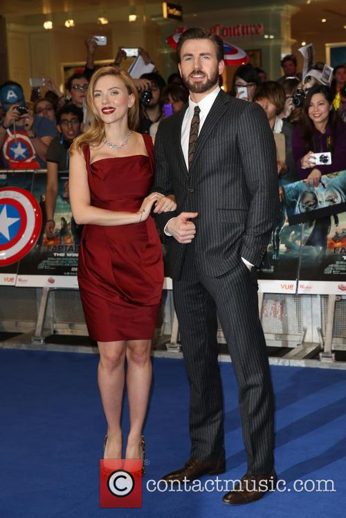 Scarlett Johansson and Chris Pine 2