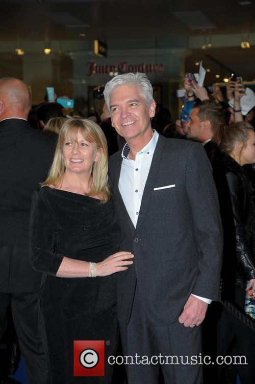 The , Philip Schofield and Stephanie Schofield 3