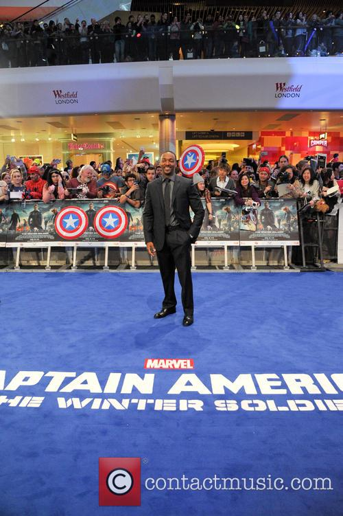 Anthony Mackie, Westfield London, Shepherds Bush