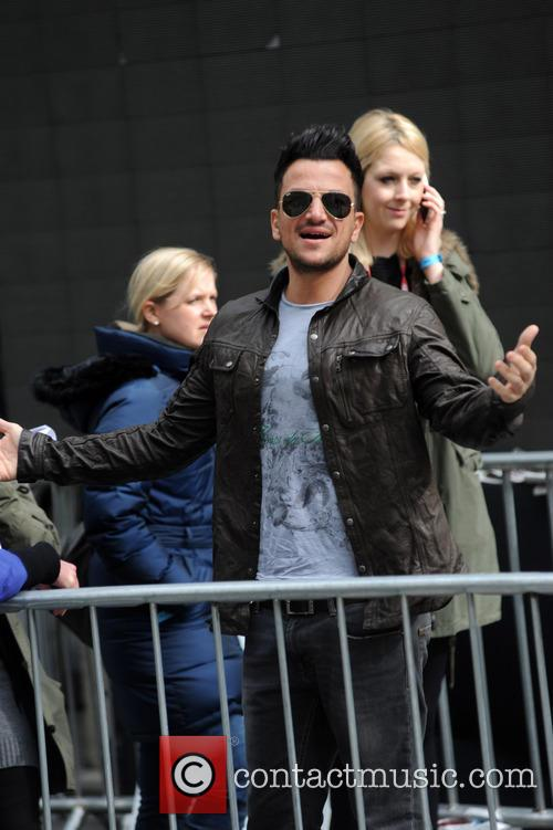 Peter Andre and Jo Whiley 2