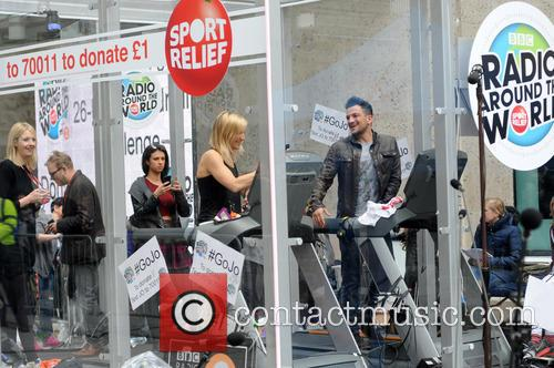 Peter Andre and Jo Whiley 7