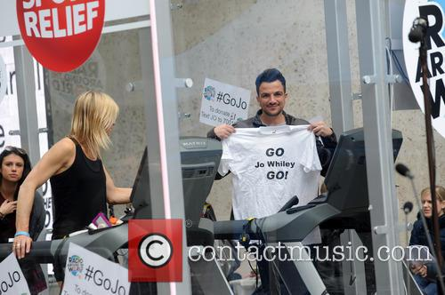 Peter Andre and Jo Whiley 8