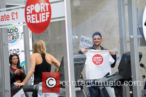 Peter Andre and Jo Whiley 10