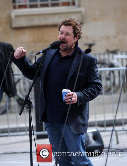 Michael Ball performs at the BBC