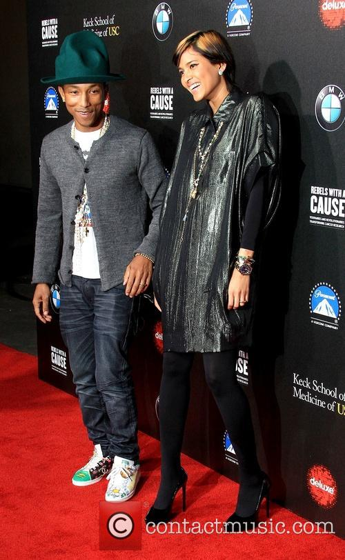 Pharrell Williams and Helen Lasichanh 10