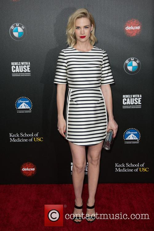 January Jones, Paramount Pictures Studios