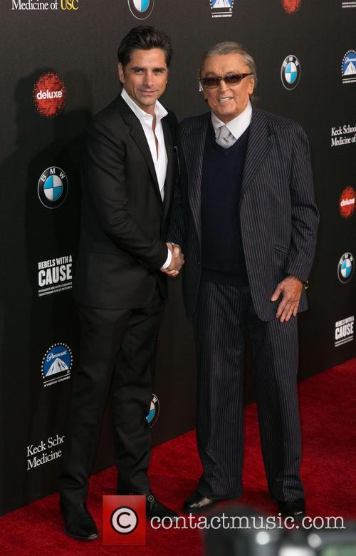 John Stamos and Robert Evans 2