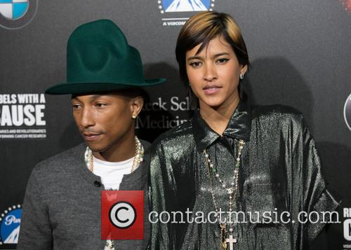 Pharrell Williams and Helen Lasichanh 8