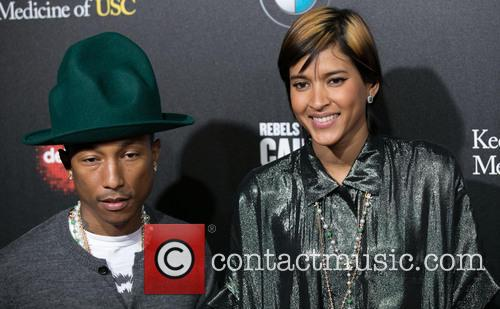 Pharrell Williams and Helen Lasichanh 9
