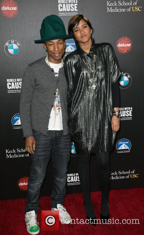 Pharrell Williams and Helen Lasichanh 11