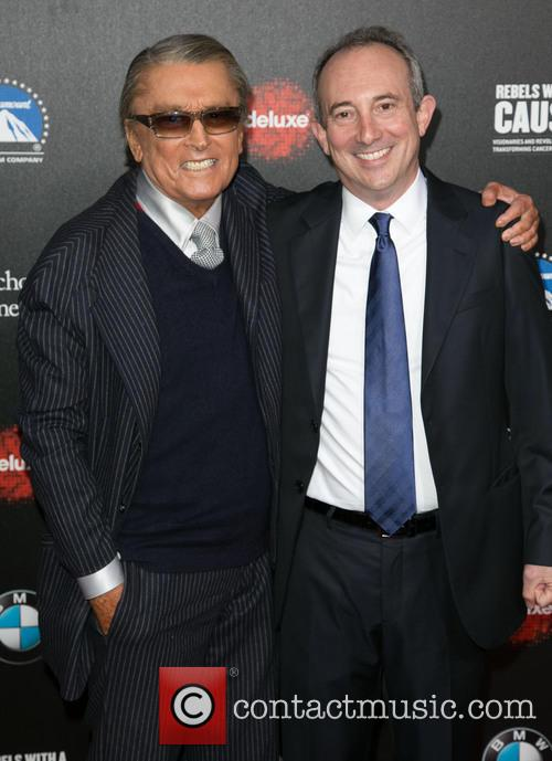 Robert Evans and Dr. David Agus 6
