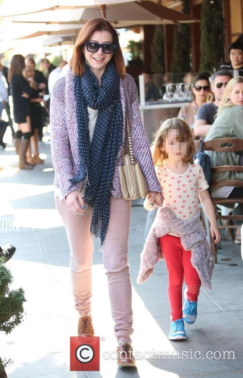 Alyson Hannigan and Satyana Marie Denisof 3