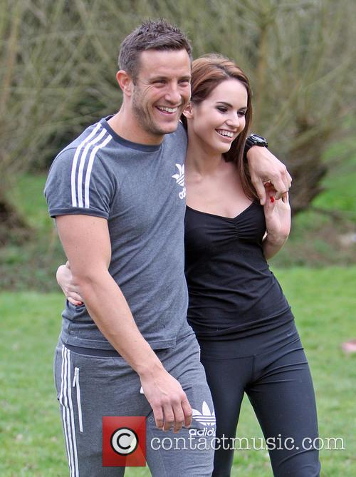 Elliott Wright with new girlfriend