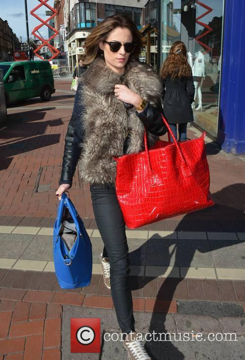 Madeline Mulqueen spotted walking on Grafton Street