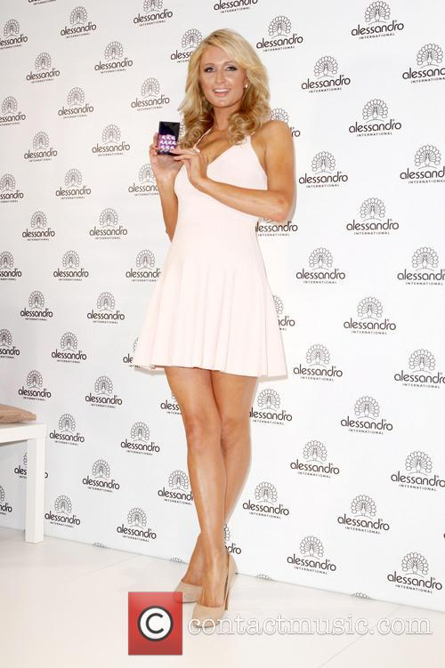 Paris Hilton at the Beauty International Convention in...