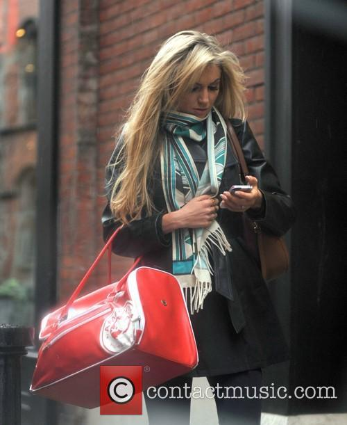 Rosanna Davison leaving the Gym