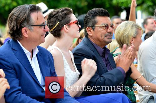 Andy Garcia, Anne Hathaway, George Lopez and Kristin Chenoweth 5