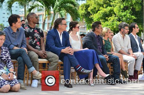 Carlos Saldanha, Jamie Foxx, Andy Garcia, Anne Hathaway, George Lopez, Kristin Chenoweth, Jemaine Clement and Rodrigo Santoro 3