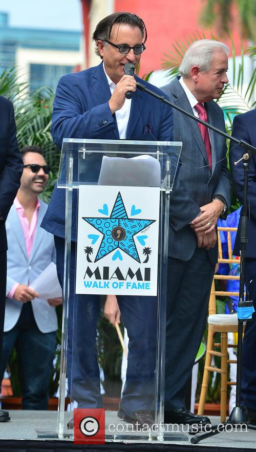 Francis Suarez, Andy Garcia and City Of Miami Mayor Tomas Regalado 1